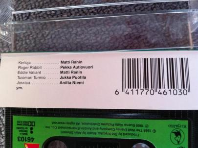 Roger Rabbit kasetti 02