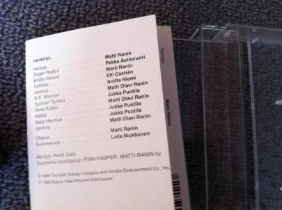 Roger Rabbit kasetti 03
