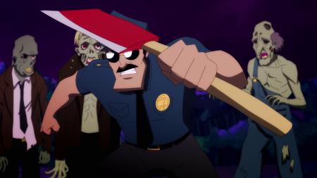 axe cop zombit