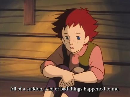 Vitsi on siinä, että Lucienin elämä oli tällaista jo ennen onnettomuutta.