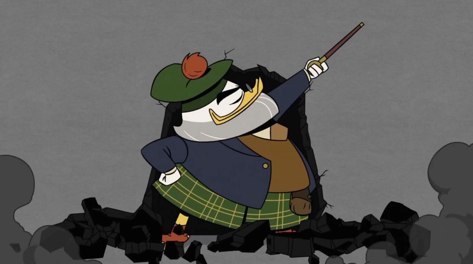 animoitu kolmikko suku puoli